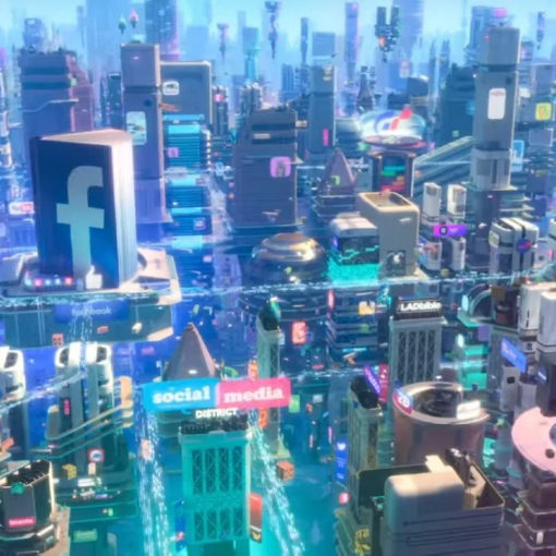 Ralph Breaks the Internet: Social Media District